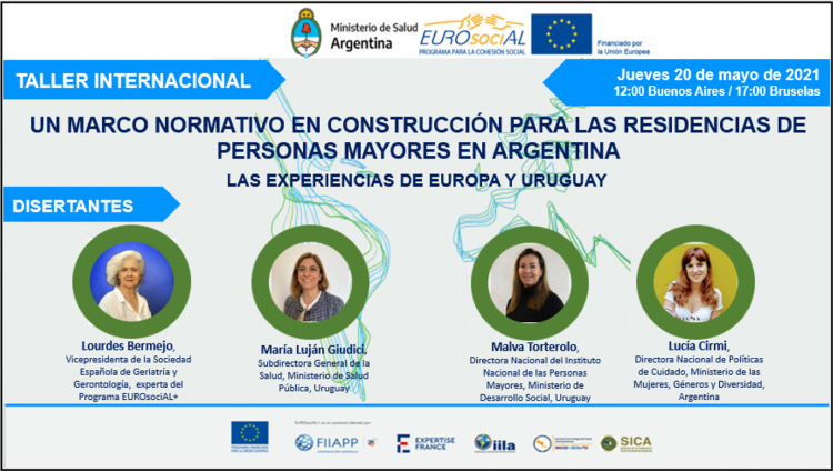 A policy framework under construction for elderly people's residences in Argentina