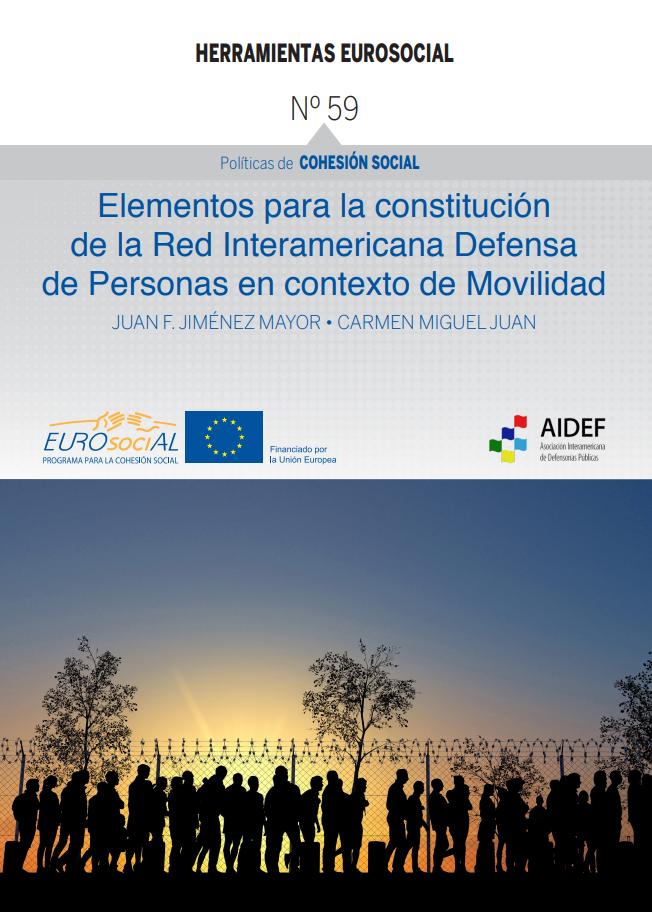 Elementos para la constitución de la Red Interamericana de Defensa de Personas en contexto de Movilidad