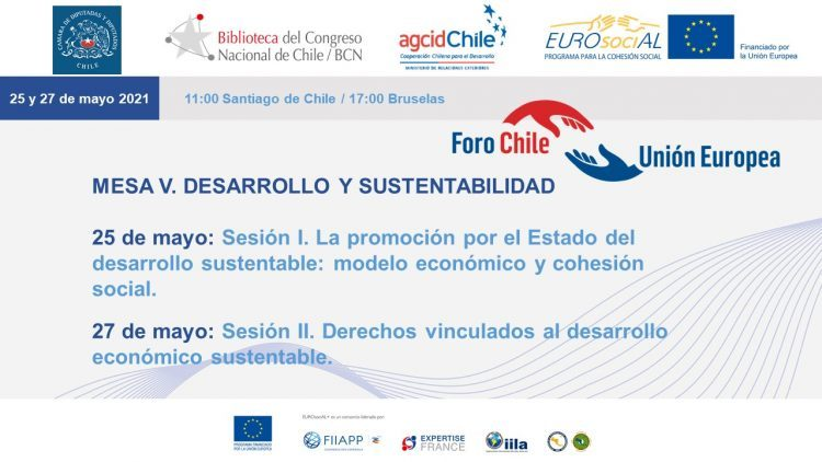Chile-EU round table meetings. Round table V: Development and sustainability