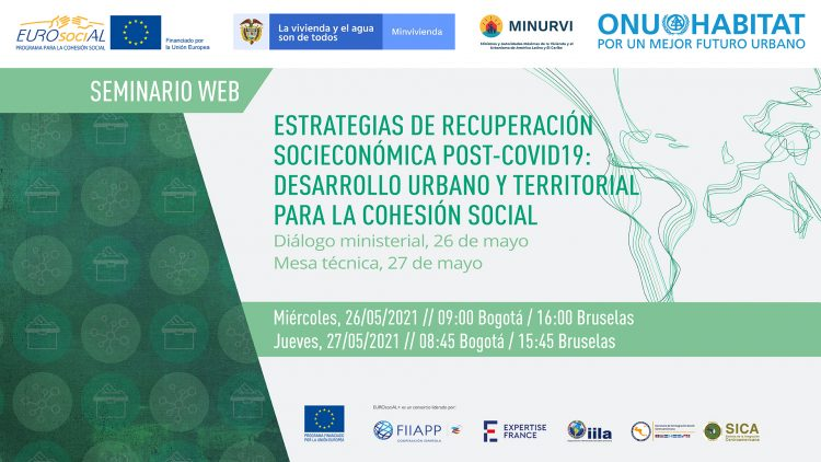 Post-COVID-19 socio-economic recovery strategies: Urban and territorial development for social cohesion