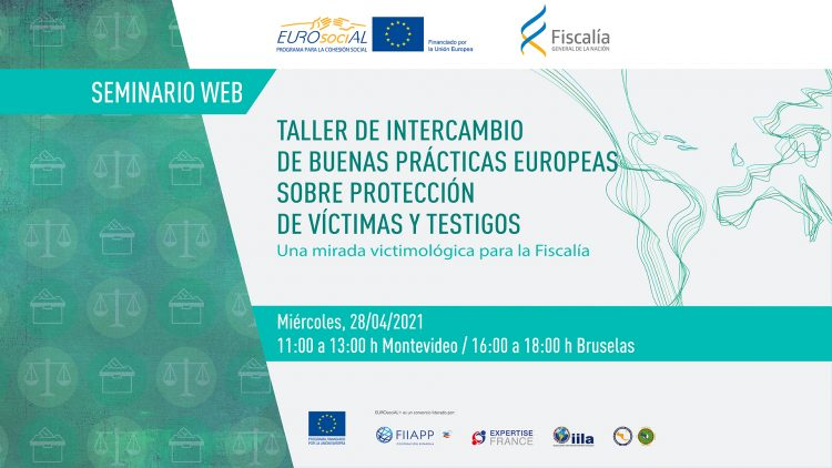 Taller de intercambio de buenas prácticas europeas sobre protección de víctimas y testigos