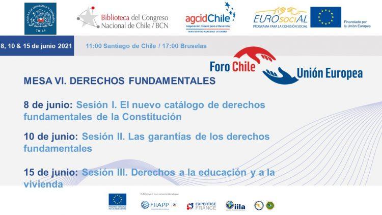 Diálogos Chile-UE. Mesa VI: Derechos Fundamentales