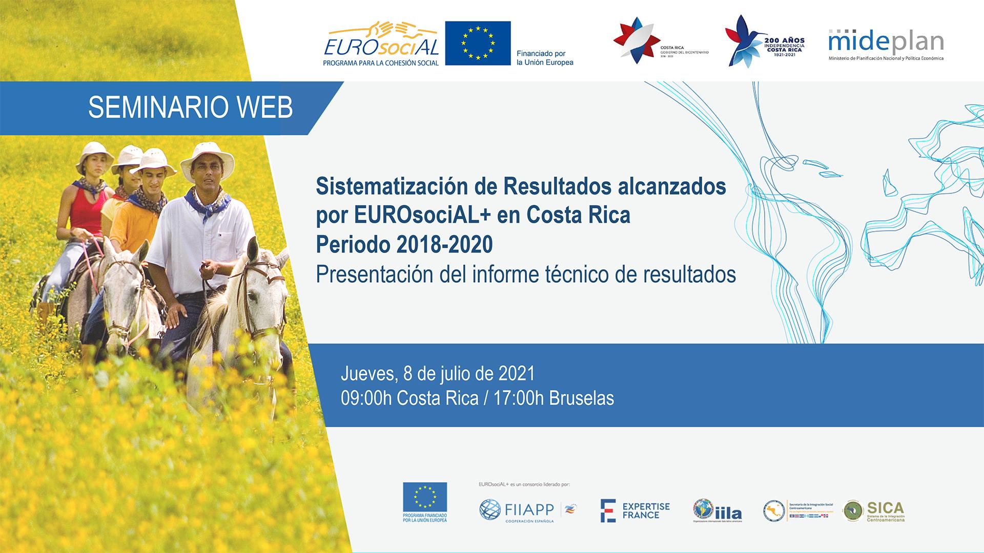 Sistematización de resultados de EUROsociAL+ en Costa Rica