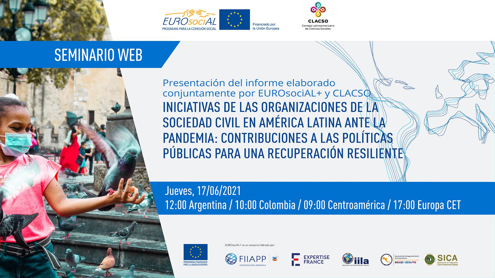 Iniciativas de las organizaciones de la sociedad civil en América Latina ante la pandemia