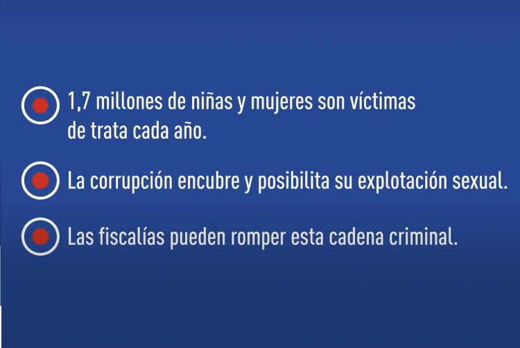 EUROsociAL+ y las Fiscalías de América Latina piden más acción contra la corrupción pública vinculada a la trata de personas