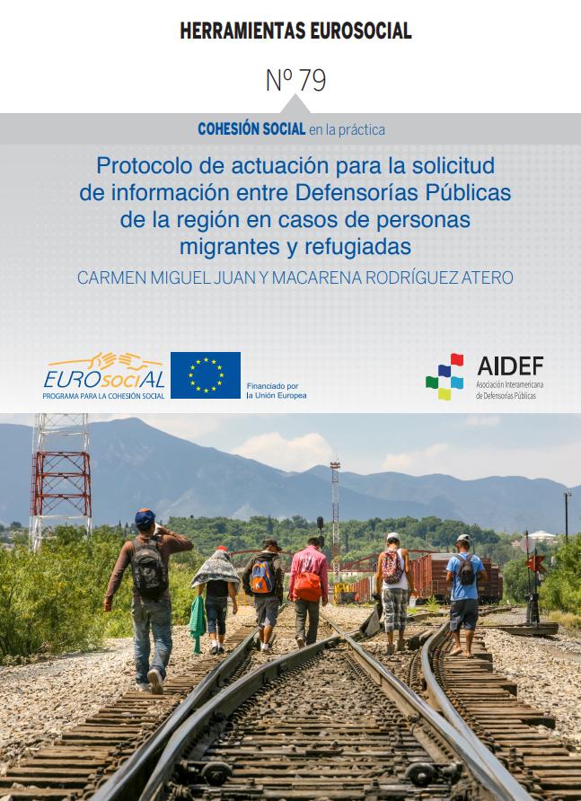 Protocolo de actuación para la solicitud de información entre Defensorías Públicas en casos de personas migrantes y refugiadas